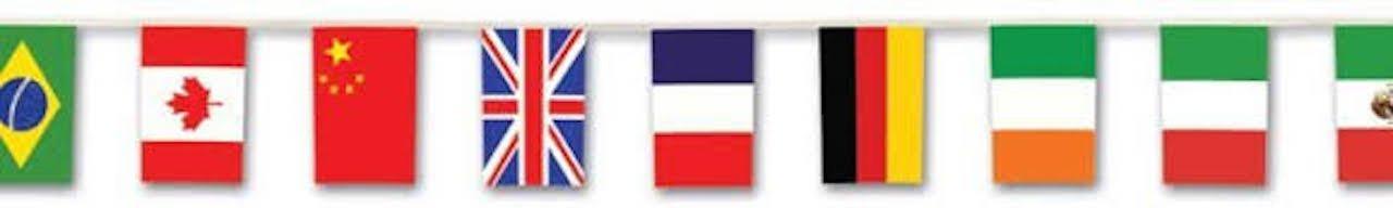 International Flag Banner Case Pack 60