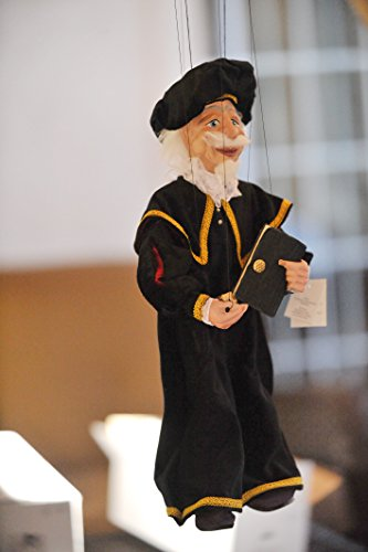 ALCHEMIST-Loutka-Marionette-String-Puppets-Approx-18-High-Hand-Made-In-Prague-Czech-Republic