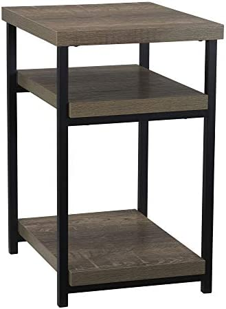 Household Essentials Low Square Side End Table