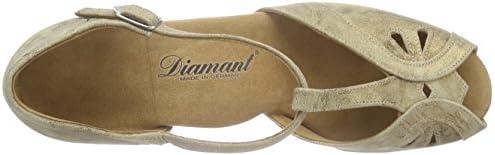 Diamant Damen Tanzschuhe 019-011-311 Standard /& Latein