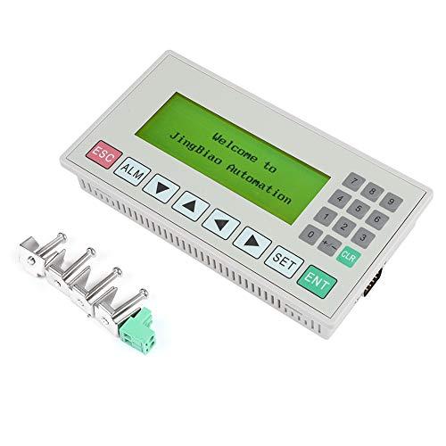 3.7インチテキストディスプレイ、OP320-A 3.7インチテキストディスプレイHMIサポートPLCコンバーターコントローラー用ケーブル付きS485/RS232通信ポートテキストディスプレイ232