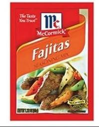 McCormick Fajitas Seasoning Mix, 1.12 oz (Pack of 12)