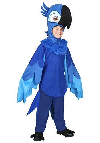 Rio Bird Costume (Big Boys' Rio Blu Costume - S)