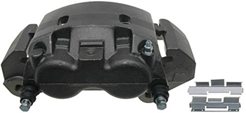 ACDelco 18FR2152 Professional Front Driver Side Disc Brake Caliper Assembly without Pads (Friction Ready Non-Coated), Remanufactured