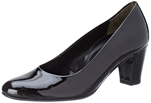 Gabor Women's Comfort Fashion Closed Toe Heels, Black Black (87 Schwarz 87)
