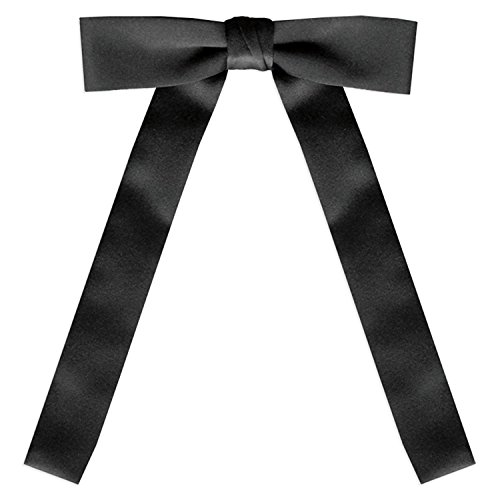 Black Satin Western Tie, By S.H Churchill]()