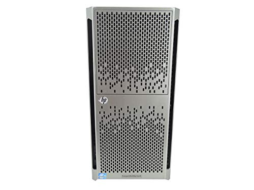 High-End HP ProLiant ML350p G8 Gen 8 8 Bay SFF 5U Tower Server, 2X E5-2670 2.6GHz 8 Core, 96GB DDR3 RAM, P420i, 4X Trays Included (Renewed)