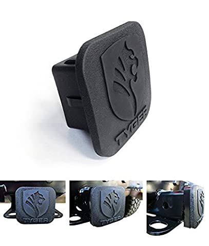 TYGER New Hitch Cover Universal Fit on 2inch Towing Trailer Hitch Receiver Tube - Acura Legend Trailer Hitch