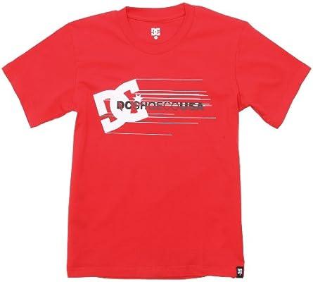 DC Shoes T-Shirt-Streamers by Camiseta, Niño, Rojo, 140: Amazon.es: Ropa y accesorios