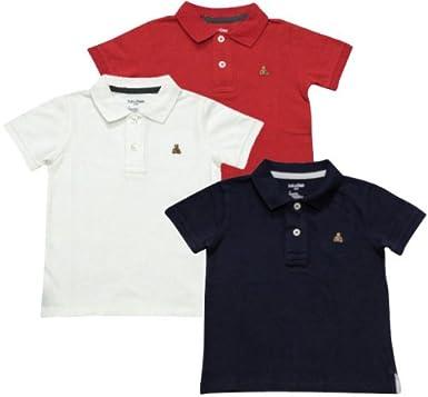 b9e08f3538854 BABY GAP(ベビーギャップ) ワンポイント鹿の子ポロシャツ  並行輸入品  Red