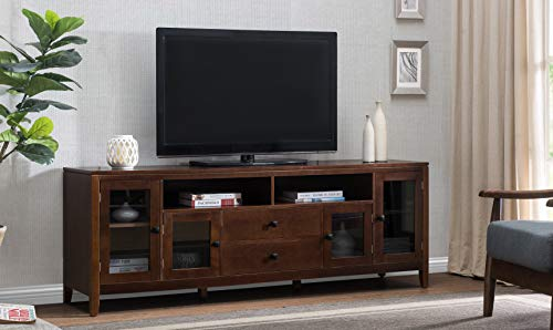 2L Lifestyle B11900001-B Manchester TV Stand, 72-inch, Medium - Group Tv