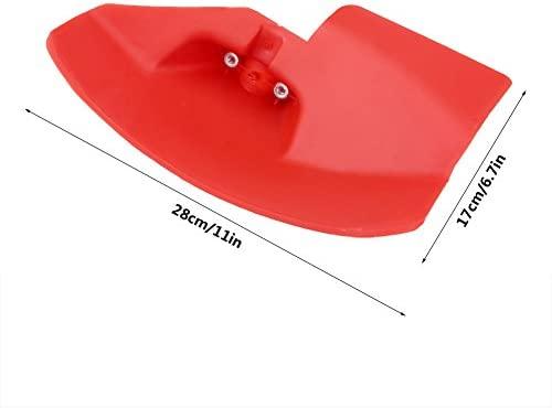 Hongzer Protector de la desbrozadora, Protector de la desbrozadora para 24 26 28 mm de diámetro.Cortador de Cepillo de podadora de Eje, Piezas de ...