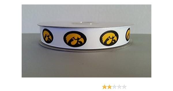 "Iowa State University Cyclones  7//8/"" Grosgrain Ribbon 1,3,5,10 yards from USA"