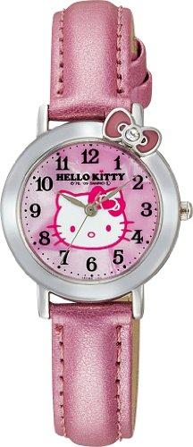 Price comparison product image Hello Kitty Classic Ribbon Analogue Watch (Pink) - Hello Kiity Watch ( Lady / Girls size)