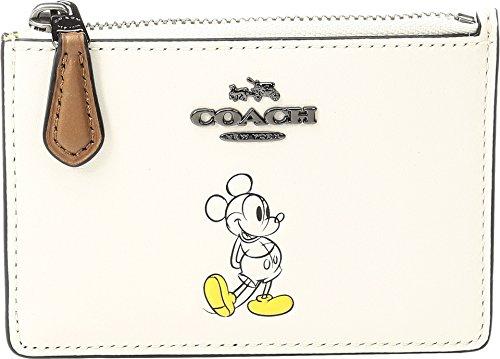 COACH Women's Box Progam Mickey Mini ID