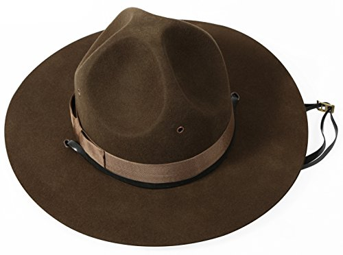 Rothco Military Campaign Hat, 7 1/2