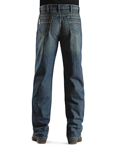 Cinch Men's White Label Relaxed Fit Jean,  Dark Wash, 38W x 34L from Cinch