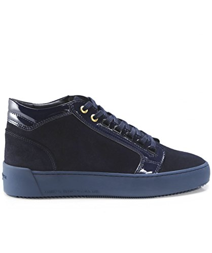 Android Homme Uomo Suede Mid-top Propulsion Trainer Marine Marine