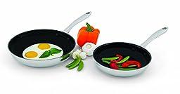 2 Piece Set - Wolfgang Puck Nonstick Omelet Pans Skillet 2 Piece 8\