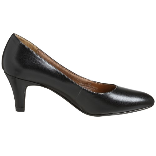 Lifestride Womens Sable Pump Black Gleam