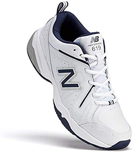 New Balance 619 V2 MX619WN Men's Wide Cross Training Sneakers 10.5 4E US White