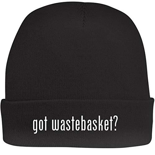 Shirt Me Up got Wastebasket? - A Nice Beanie Cap, Black, OSFA