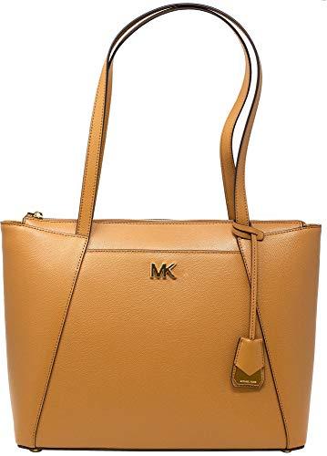 (Michael Kors Maddie Ladies Medium Crossgrain Leather Tote Handbag 30S8GN2T2L532)
