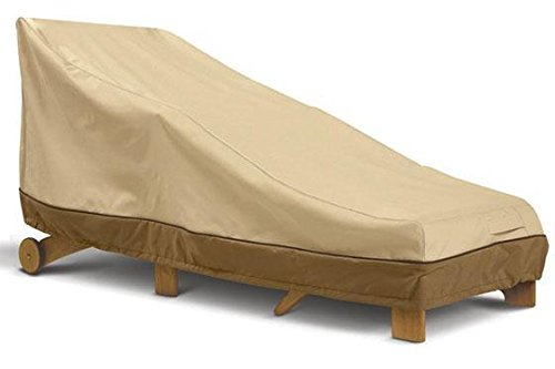 Classic Accessories 78952 Veranda Patio Chaise Lounge Cover, Medium