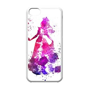 Sleeping Beauty iPhone 5c Cell Phone Case White yyfabd-256271