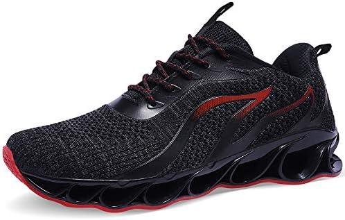 41oiRMtQzpL. AC TIAMOU Men Running Walking Shoes Sport Athletic Wihte Jogging Sneakers    Product Description