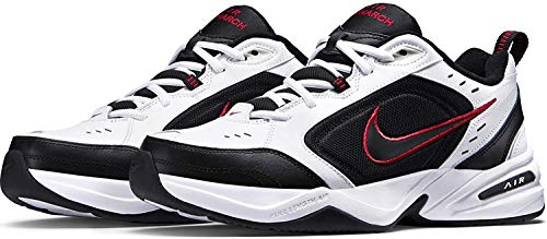 Nike Air Monarch Iv 415445 White/Black-Varsity Red Style: 415445-101 Size: 14