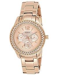Fossil ES3590 Reloj Stella, Análogo, Redondo para Mujer