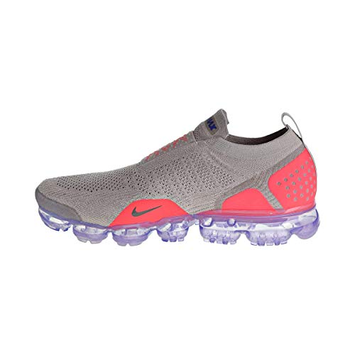 Nike Air Vapormax Flyknit MOC 2 Men's Shoes Moon Particle/Solar Red ah7006-201 (8.5 D(M) US) (Ultra Moc)