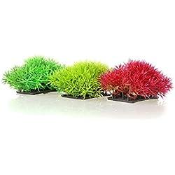 3pcs/ Artificial Grass Aquarium Decor Water Weeds Ornament Plant Fish Tank Decorations & Ornaments (Multicolors)
