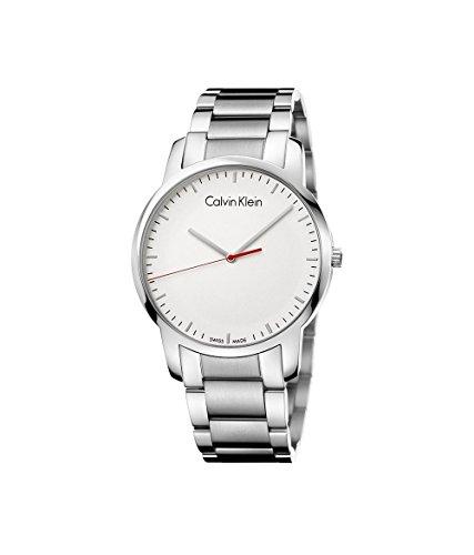 Calvin Klein City Silver Dial Mens Watch K2G2G1Z6