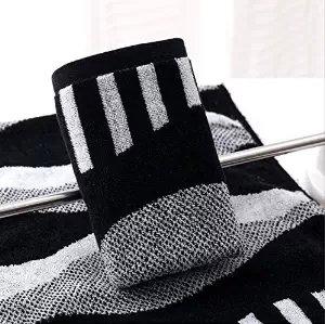 Ofertas toallas de rayas blancas y negras toallas de mano para amantes 100% algodón toalla de baño 6 piezas: Amazon.es: Hogar