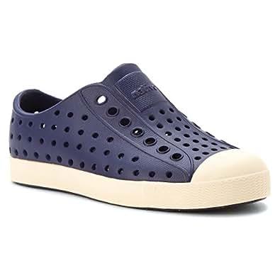 Native Kids Shoes Unisex Jefferson (Little Kid) Regatta Blue 2 Sneaker 1 Little Kid M