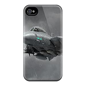 New Design Shatterproof YrthTbd3723IrrHk Case For Iphone 4/4s (fighters In The Rain)