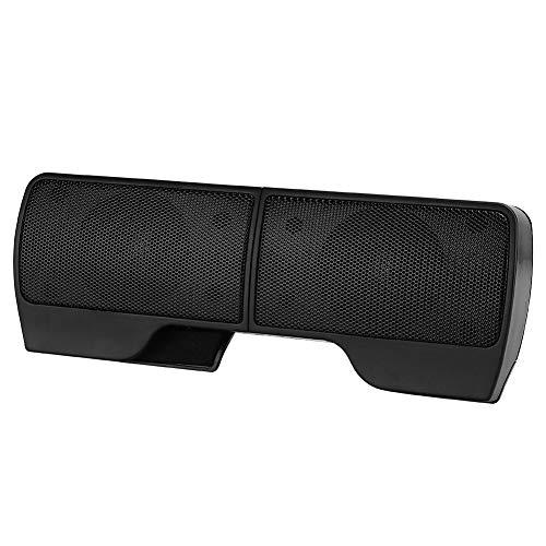 ANNADUE 미니 시끄러운 스피커 스테레오 노트북 용 휴대용 사운드 바 PC 노트북 용 볼륨 컨트롤이있는 홈