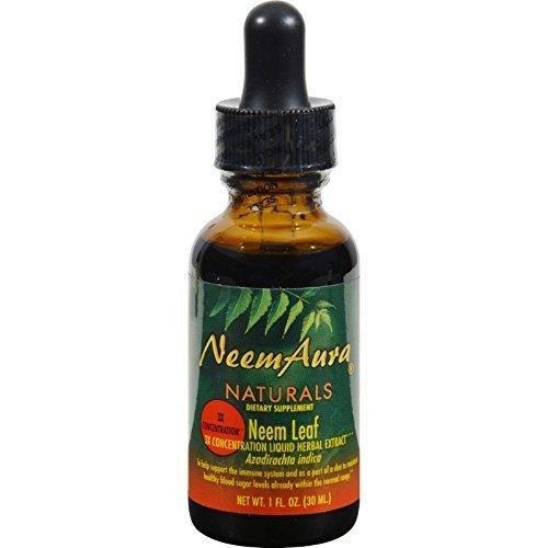 Neemaura Naturals Neem Leaf Extrct 3X 1 oz ( Multi-Pack)