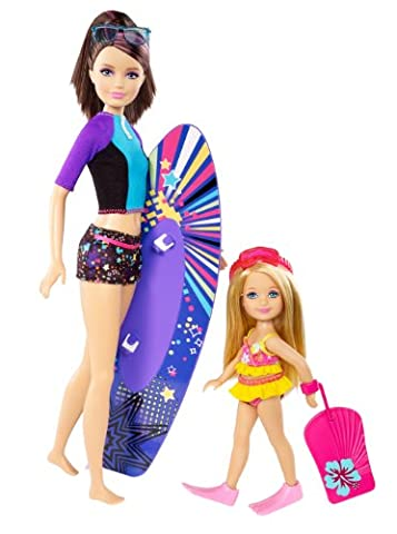 Barbie Life in the Dreamhouse The Amaze Chase Surfing Skipper and Chelsea Doll (2-Pack)