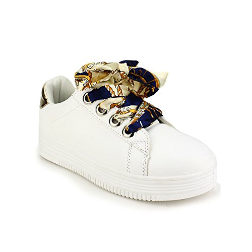 Blanche Lacet Chaussures Sneakers Femme Looks Cendriyon RqZ0xax