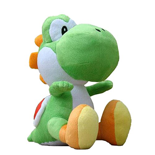 Super Mario Bros Officially Licensed Nintendo Yoshi Plush Toy (Green) (Best Selling Ds Games Of All Time)