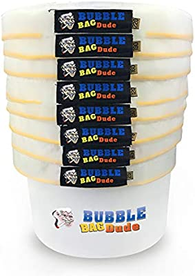 Amazon.com: bubblebagdude todos Malla Bolsa De 5 galones 8 ...