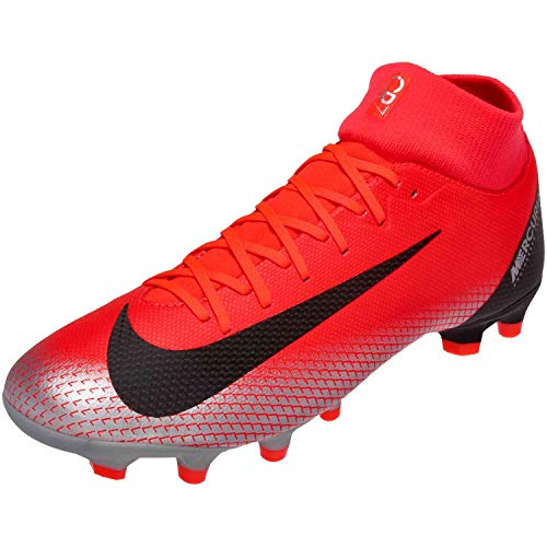Nike Men's Soccer Mercurial Superfly VI Academy CR7 Multi Ground Cleats (8.5 M US)