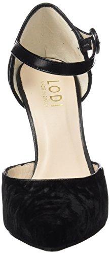 Correa para Vintage con de Negro Zapatos Salvia lodi Mujer Negro Tobillo Te wxpqU7xag