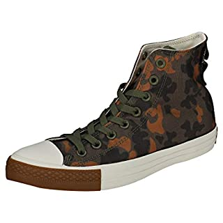 Converse Chuck Taylor All Star High Top Mens Shoes Field Surplus/Egret 161429c (7 M US)