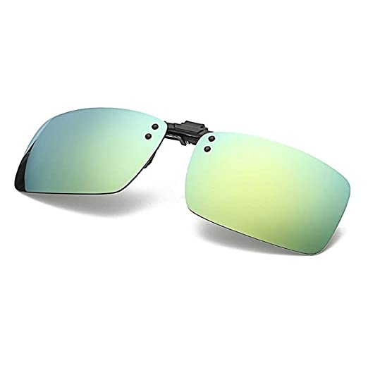 84bf827b6a266 Polarized Clip on Sunglasses Flip Up Clip-on Driving Glasses for Men UV400  Sunglasses