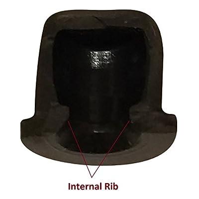 (25 Pack) Brake Bleeder Screw Caps Grease Zerk Fitting Cap Rubber Dust Cover: Industrial & Scientific