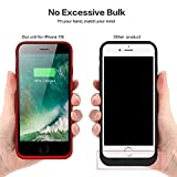 QTshine Battery Case for iPhone 6/6s/7/8, Upgraded